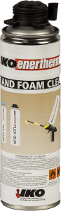 Gun-and-foam-cleaner
